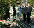 Koszorúzás a Gesztenyéskertben. 2007. március 15.