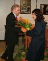 Gráf Zsuzsanna és az Angelica Leánykar köszöntése - 2009. március 6.