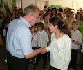 Fogyatékos gyermekek rajzkiállítása. 2008. szeptember 10.