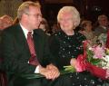 Szőnyi Erzsébettel, a Hegyvidék új díszpolgárával, 2008. szeptember 26.